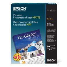 Epson Premium Presentation Paper Letter Size