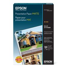 Epson Presentation Paper Matte Ledger Size
