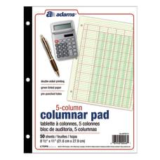 Adams Analysis Pad 8 12 x