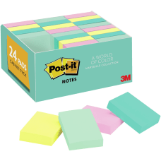 Post it Recycled Pads Greener Notes
