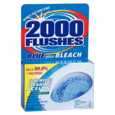 2000 Flushes Plus Bleach Bowl Cleaner