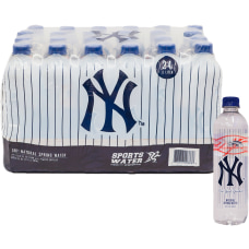 New York Yankees Natural Spring Water
