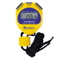 Learning Resources Big Digit Stopwatch YellowPurple