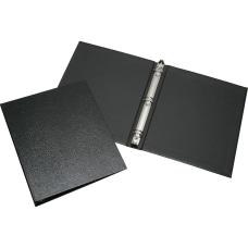 SKILCRAFT Leather Grain 3 Ring Binder
