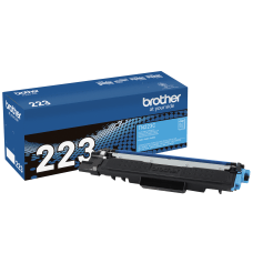 Brother Genuine TN 223C Cyan Toner