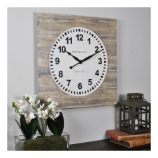 FirsTime Co Jackson Square Wall Clock