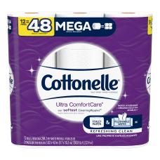 Cottonelle Ultra ComfortCare 2 Ply Toilet