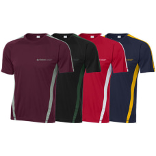 T Shirt Colorblock Sport Screened