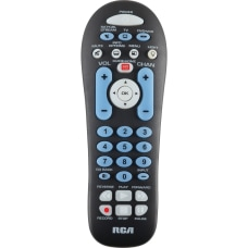 RCA 3 device universal remote For