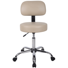 Boss Medical Stool With Back 27