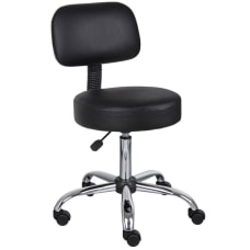 Boss Medical Stool With Back With