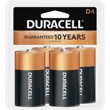 Duracell Coppertop Alkaline D Batteries For