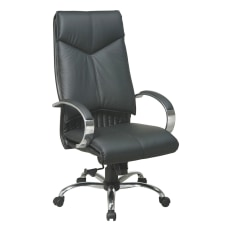 Office Star Deluxe Bonded Leather High