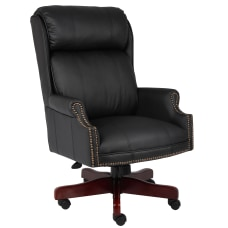 Boss Office Products Traditional Bonded LeatherPlus