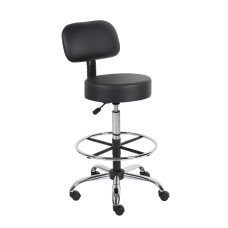 Boss Office Products Antimicrobial Medical Stool