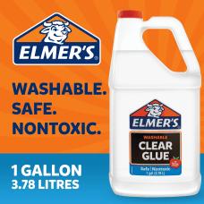 Elmers Glue 1 Gallon Clear