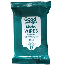 Good To Go Sanitizing Alcohol Wipes
