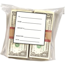 MMF Strapped Currency Bags 825 Width