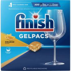 Finish Dishwasher Gel Packs 130 oz