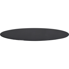 Lorell Round Glass Conference Tabletop Round