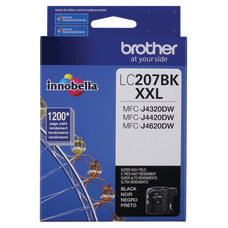 Brother Genuine LC207BKS Super High Yield