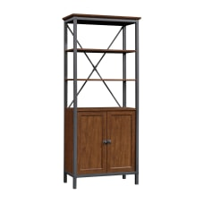 Sauder Carson Forge Bookcase With Doors