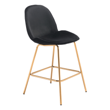 Zuo Modern Siena Counter Chairs BlackGold