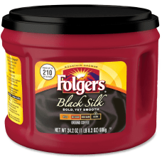 Folgers Black Silk Coffee Dark Roast