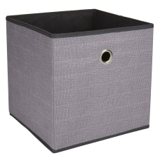 Realspace Storage Cube Medium Size Charcoal