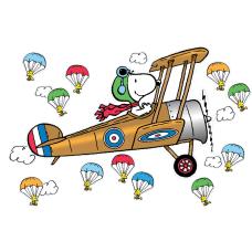 Eureka Peanuts Giant Flying Ace Snoopy