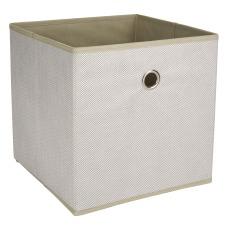 Realspace Storage Cube Medium Size Herringbone
