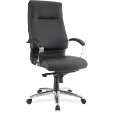 Lorell Modern Executive Bonded Leather High