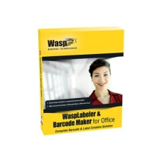 Wasp WaspLabeler Barcode Maker License Standard