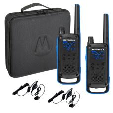 Motorola TalkAbout T800 Radios Bundle BlackBlue