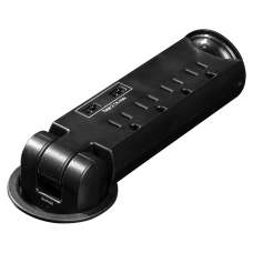 Lorell 4 Outlet Pull Out Surge