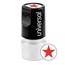 Universal Round Pre Inked Message Stamp