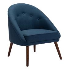 Zuo Modern Carter Occasional Chair Cobalt