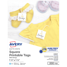 Avery Print To The Edge Tags