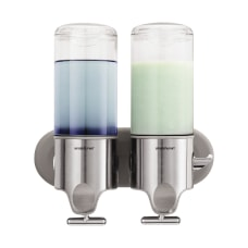 simplehuman Twin Wall Mount Soap Pumps