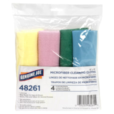 Genuine Joe Color coded Microfiber Cleaning