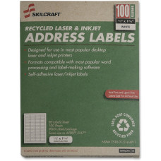 White Laser Address Labels NSN5144911 12