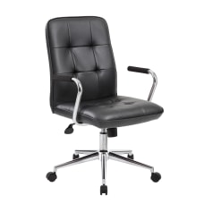 Boss Office Products Modern CaressoftPlus Mid