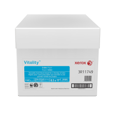 Xerox Vitality Index Paper Letter Size