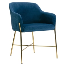 Glamour Home Ana Dining Chairs Blue