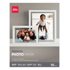 Office Depot Premium Photo Paper Gloss