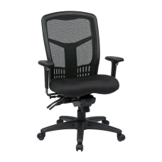 Office Star ProGrid Fabric High Back