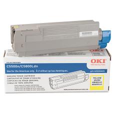 OKI 43324401 Yellow Toner Cartridge