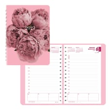 Brownline Pink Ribbon Daily Appointment Book