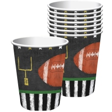 Amscan Football Game Time Paper Cups