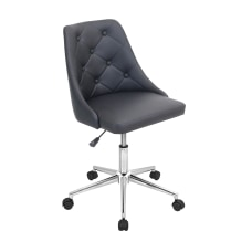 LumiSource Marche Chair BlackChrome